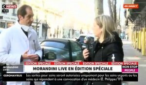 "VIRUS - Morandini Live: A Paris, des tests de dépistage du coronavirus sont effectués en ""drive in"" par un laboratoire - VIDEO"