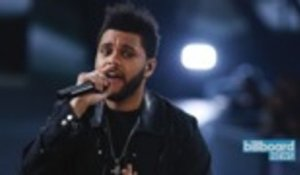 The Weeknd's 'Blinding Lights' Lifts From No. 2 to No. 1 on Hot 100 | Billboard News