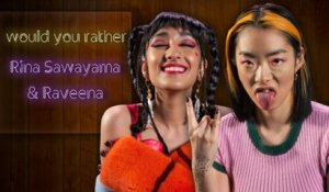 Raveena and Rina Sawayama endorse time travel and want alien pen pals