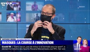 Masques : la course à l'innovation - 25/05