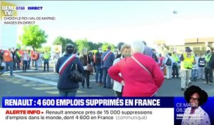 Renault confirme la suppression de 4 600 emplois en France