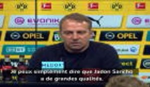 28e j. - Flick : ''Sancho est un joueur de grand talent''