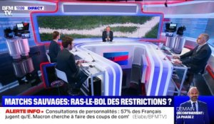 Story 1 : Matchs sauvages, ras-le-bol des restrictions ? - 27/05