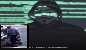 Mort de George Floyd : le message menaçant d'anonymous a la police de Minneapolis