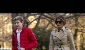 "Melania Trump et son fils Barron ""traumatisés""  cet incident difficile à surmonter"