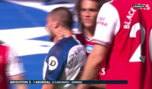 Brighton / Arsenal : Grosses tensions entre Maupay et Guendouzi