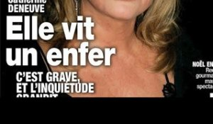 Catherine Deneuve  vit l'enfer , état grave #8211; Le message de Valérie Trierweiler (photo)