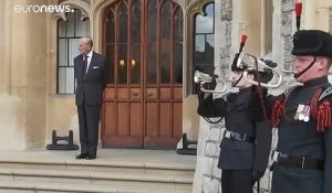 Rare apparition publique du Prince Philip