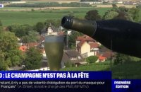 La production et la vente de champagne s'effondrent à cause du Covid-19