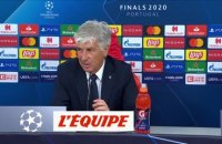 Gasperini : «On pensait que le match était plié» - Foot - C1 - Atalanta