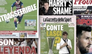 Le message énigmatique d'Antonio Conte fait trembler l'Inter, la presse anglaise cartonne Harry Maguire