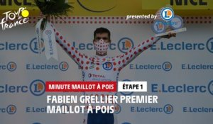 #TDF2020 - Étape 1 / Stage 1 - E.Leclerc Polka Dot Jersey Minute / Minute Maillot à Pois