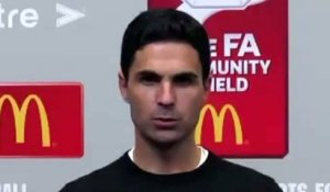 Football - Community Shield 2020 - Mikel Arteta press conference after Arsenal wins against Liverpool