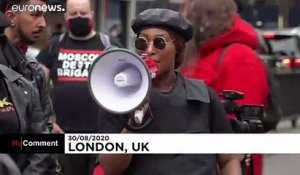 Black Live Matter : nouvelle action à Londres