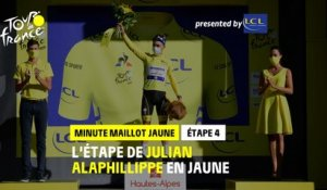 #TDF2020 - Étape 4 / Stage 4 - LCL Yellow Jersey Minute / Minute Maillot Jaune