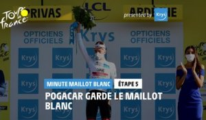 #TDF2020 - Étape 5 / Stage 5 - Krys White Jersey Minute / Minute Maillot Blanc