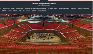 MusicCompetitionOnline - Bach BWV 543 Yiwen Yin, accordeon