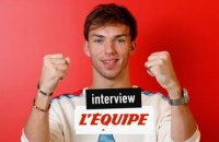« Le plus rapide ? Pierre Gasly ! » - F1 - Interview