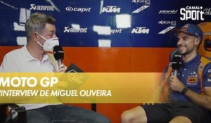 L'interview de Miguel Oliveira