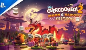 Overcooked! 2 - Moon Harvest Free Update Trailer | PS4