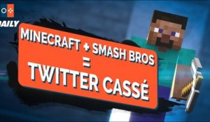 TWITTER CRASH à cause de SMASH BROS. ULTIMATE (Switch) et MINECRAFT ? - JVCOM DAILY