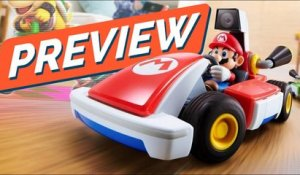 MARIO KART entre vos MEUBLES, concept EXCELLENT ! PREVIEW de MARIO KART LIVE : HOME CIRCUIT Switch
