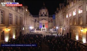 Samuel Paty: L'hommage national - 21/10