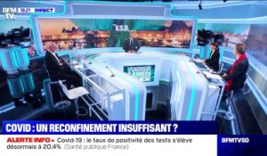 "William Dab: ""Ce reconfinement est incontestablement un échec"" - 01/11"