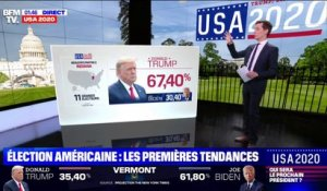 Le Kentucky remporté par Trump, le Vermont par Biden (projections)