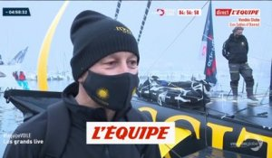 Tripon : «Beaucoup d'impatience et d'envie» - Voile - Vendée Globe