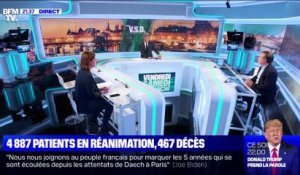 Covid: 4 887 patients en réanimation, 467 décès - 13/11