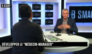 "BE SMART - L'interview ""Expertise"" de François Pelen (Médecin, cofondateur, Point Vision) par Stéphane Soumier"