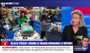 Story 3 : Bruno Le Maire demande le report du Black Friday - 17/11