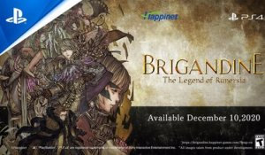 Brigandine: The Legend of Runersia - Titans and the Iron Front Trailer | PS4