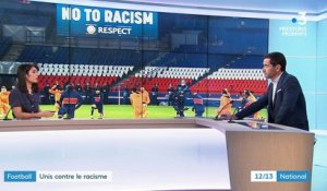 Football : engagés contre le racisme