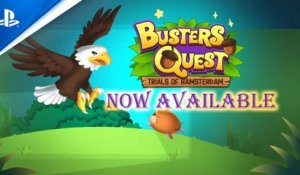 Buster's Quest: Trails of Hamsterdam - Launch Trailer | PS4