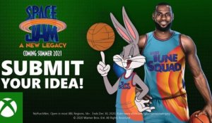 Submit your idea for a Space Jam: A New Legacy Arcade-Style Xbox Game