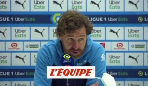 Villas-Boas : «Beaucoup de frustration» - Foot - L1 - OM