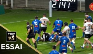 TOP 14 - Essai de Anthony Jelonch (CO) - Castres - Brive - J4 - Saison 2020/2021