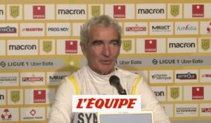 Domenech : « Touré, c'est du costaud » - Foot - L1 - Nantes
