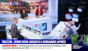"Axel Khan : ""le plus important c'est de vacciner le maximum de personnes, le plus rapidement possible"" - 10/01"