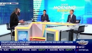 Sébastien Chabal (Private Discuss) : Private Discuss franchit les 100 000 utilisateurs - 13/01
