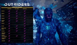 Outriders PC Spotlight Trailer