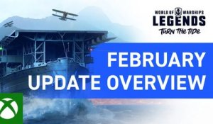 World of Warships: Legends – February Update Overview
