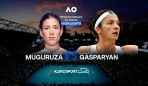 Highlights | Garbiñe Muguruza - Margarita Gasparyan