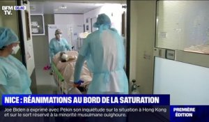 Covid-19: des réanimations au bord de la saturation à Nice