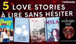 5 love stories à lire sans hésiter !