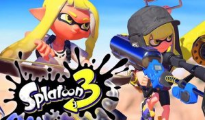 SPLATOON 3 - GAMEPLAY TRAILER OFFICIEL
