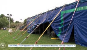 Le Journal - 19/02/2021 - CULTURE / 5000 spectateurs assis, comment les festivals vont-ils s'adapter ?