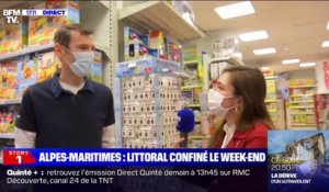 Story 1 : le littoral des Alpes-Maritimes confiné le week-end - 22/02